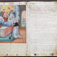 Księga ślubów zakonnych XVII w
